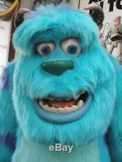 2001 MONSTERS INC SULLY LIFE SIZE STORE DISPLAY DISNEY With CAST SIGNED POSTER