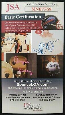 A League Of Their Own 9 Cast Member Signed 16x20 JSA