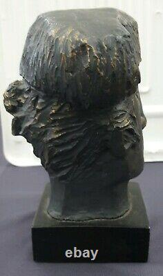 ALVAR SUNOL Spanish Artist Matador Bronze Overlay Cast Modernist Sculpture