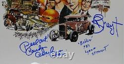 American Graffiti Cast JSA Signed Autograph JSA COA photo 12 x 18 Dreyfuss
