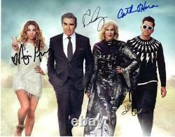 Annie Murphy +3 Schitt's Creek Cast autographed 11x14 Picture signed PhotoPicCOA