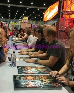 Archer cast signed 2017 SDCC poster H. Jon Benjamin Greer Tyler Nash Walter Yates
