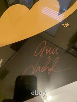 BATMAN Autographed Hand Signed Poster 27X40 Nicholson Keaton Basinger Cast COA