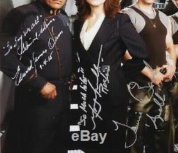Battlestar Galactica JSA Cast 7 signatures signed autograph 11x14 photo