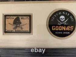 COREY FELDMAN JEFF COHEN + GOONIES CAST CUSTOM FRAMED 16x16 PHOTO SIGNED JSA COA