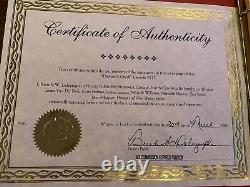 EXTREMELY RARE Authenticated Dawsons Creek script signed by full cast