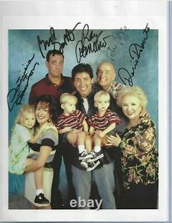 Everybody Loves Raymond TV Show Autographed 8x10 Color Cast Photo JSA COA (5)