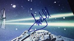 FISHER HAMILL FORD STAR WARS THE FORCE AWAKENS SIGNED 27x40 POSTER FULL JSA LOA