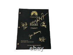 Frasier Cast Signed Script 5 Stars Grammer-Pierce-Leeves Mahoney Gilpin MINT