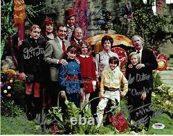 Gene Wilder Willy Wonka and Chocolate Factory Cast Signed 11x14 Photo PSA/DNA
