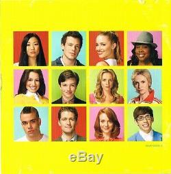 Glee Cast SIGNED CD Lea Michele Cory Monteith COA