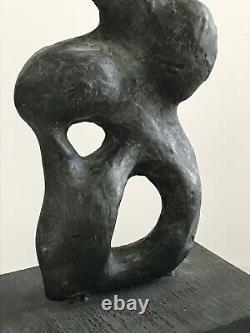 HENRY MOORE Sculpture Signed 1939 cold cast Full Provenance Original Art