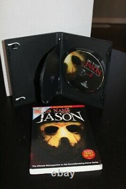 HIS NAME WAS JASON DVD signed by 26 cast and crew! JSA Certified LOA