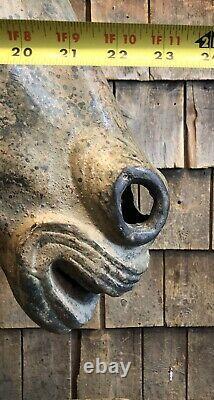 HISTORIC Antique STEIN&GOLDSTEIN ARTISTIC Carousel Horse Brass Mold Trade Sign