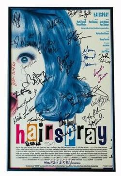 Hairspray Original Cast Signed Broadway Theatre Poster Signed by John Waters