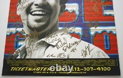 IN THE HEIGHTS LIN-MANUEL MIRANDA, RARE 24 Cast Signed Broadway Poster HAMILTON