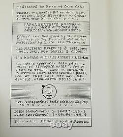 Like a Velvet Glove Cast in Iron DANIEL CLOWES SIGNED Limited First Edition 1993