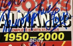 Michael J Fox + 3 Cast SIGNED Back To The Future ll Grays Sports Almanac COA