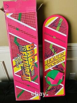 Michael J Fox +3 signed Cast hoverboard Back to the future Beckett COA