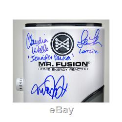 Michael J. Fox, Back to the Future Cast Autographed 11 Scale Mr. Fusion Replica
