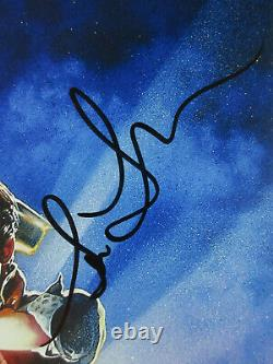 Michael J Fox Lloyd Zemekis Thompson Cast Signed'Back to the Future' Poster JSA