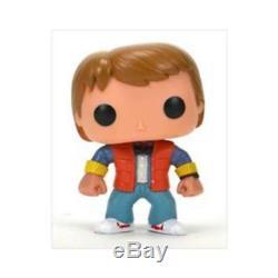 Michael J. Fox-back To The Future Funko Pop Doll Car-cast Signed 5x-nib-rare/oop
