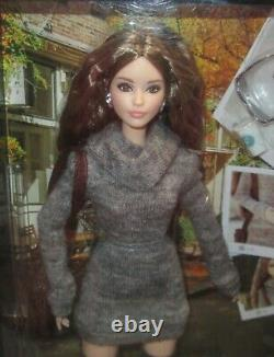 NRFB Signed by Bill G. The Barbie Look Sweater Dress Doll Lagerfeld Face Mold