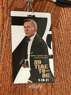 No Time To Die Movie Poster CAST SIGNED Premiere James Bond Daniel Craig 007 WOW