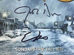 Once Upon A Time Cast Signed Poster SDCC 8 Signatures