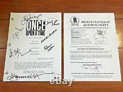 Once Upon A Time Signed The Final Battle Part 2 Script By 7 Cast Beckett Coa