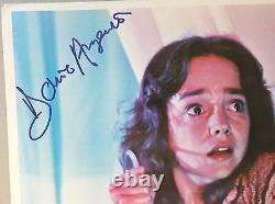 Original SUSPIRIA Lobby Card Signed by Dario Argento & 4 members of the cast