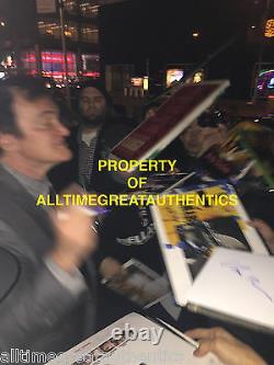 PULP FICTION CAST SIGNED 12x18 MOVIE POSTER withCOA x4 TRAVOLTA TARANTINO UMA ROTH