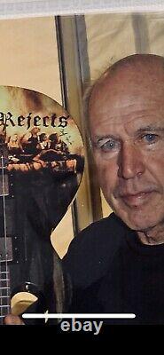 ROB ZOMBIE DEVILS REJECTS Guitar Cast Signed Autographed Cast Singing Pictures