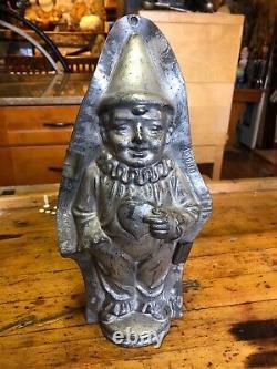 Rare Anton Reiche Dresden Chocolate Clown Mold, Pierrot In Love 12