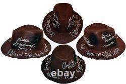Robert Englund Freddy Krueger Cast Autographed Nightmare Elm St Fedora ASI Proof