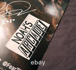 SDCC 2016 Comic-Con AMC Fear The Walking Dead Cast Signed Autograph Poster RARE