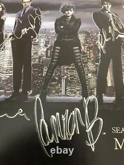 SDCC GOTHAM CAST SIGNED BY 11 POSTER Lot Comic Con 2015 WB & Wristband