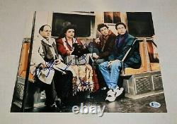 SEINFELD signed autographed 11x14 CAST PHOTO #3 BECKETT LOA (BAS) JERRY +2