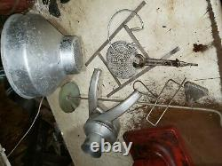 Sanitary Economy King #11 Cream Separator Cast Iron Tin Metal Hand Crank Antique