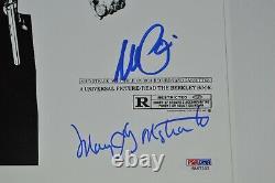 Scarface Al Pacino & Cast Autographed 11x17 Photo PSA LOA
