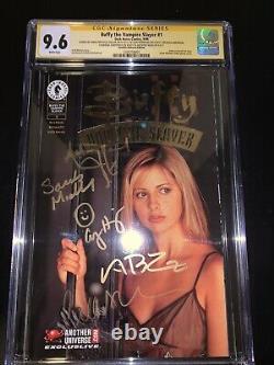 Signed Buffy The Vampire Slayer 1 CGC 9.6 Sarah Michelle Gellar & Original Cast