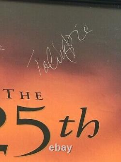 Signed By Cast Autographed The Godfather Poster