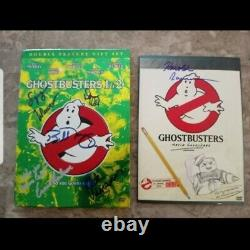 Signed Ghostbusters Full Cast DVD Set