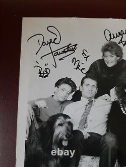 Signed Photo Married with Children Full Cast Al Bundy Christina Applegate