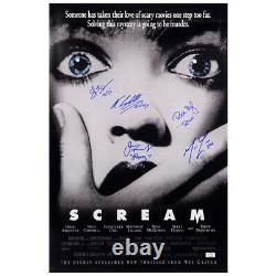 Skeet Ulrich Neve Campbell Lillard McGowan, Cast Autographed Scream 16x24 Poster