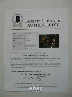 Spaceballs Cast Signed 11x17 Photo Mel Brooks Rick Moranis Beckett Bas Letter