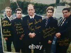 THE SOPRANOS Cast Signed/Framed Poster (COA & Photo Incl.)PRICE DROP