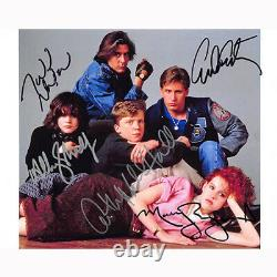 The Breakfast Club Cast by 5 (75224) Autographed In Person 8x10 with COA