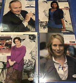 The Office Cast (22)Signed Lot of 8x10 Photos JSA, PSA, Beckett, autograph COA
