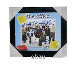 The Office Cast Signed Custom Framed & Matted Themed 8.5x11 Photo JSA COA